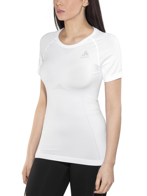 Odlo Performance Light Crew Neck SS Shirt Women white